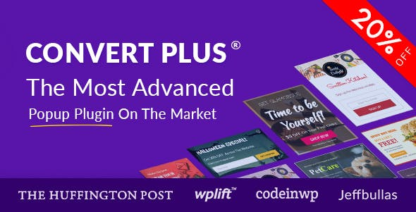 ConvertPlus v3.4.4 – Popup Plugin For WordPress