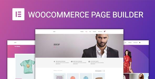 WooCommerce Page Builder For Elementor v1.1.3