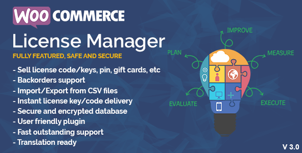 WooCommerce License Manager v4.1.6