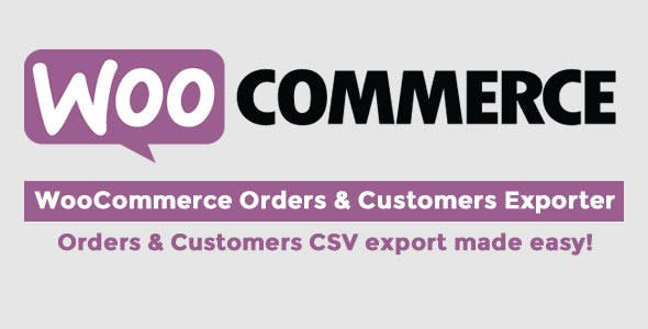 WooCommerce Orders & Customers Exporter v4.3