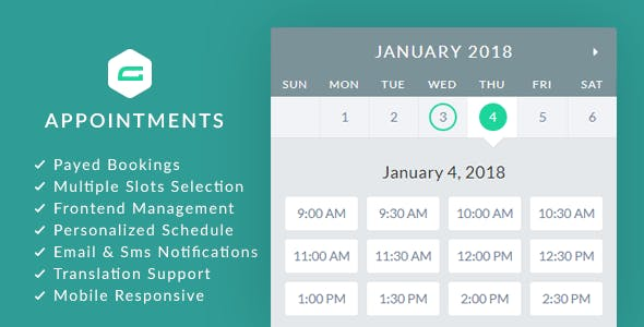 gAppointments v1.9.3 - Appointment booking addon for Gravity Forms