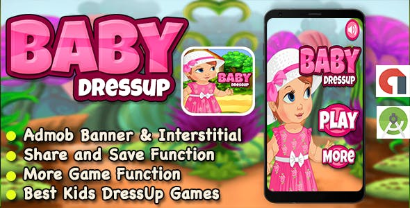 Baby Dress Up Game For Kids + Ready For Publish + Android