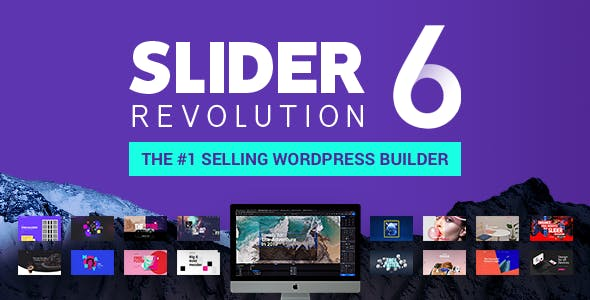 Slider Revolution v6.0.4 - Responsive WordPress Plugin