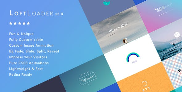 LoftLoader Pro v2.0.1 – Preloader Plugin for WordPress