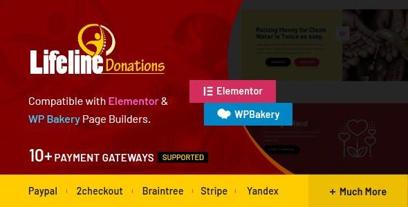 Lifeline Donations v1.0.1 – Multidimensional WordPress Donations Plugin