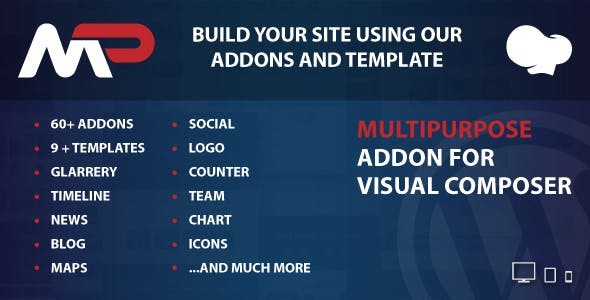 MultiPurpose Addons for WPBakery Page Builder v1.0