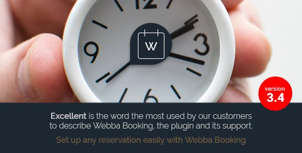 Webba Booking v3.4.27 - WordPress Appointment & Reservation plugin