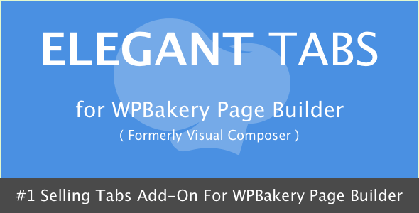 Elegant Tabs for WPBakery Page Builder v3.4.1