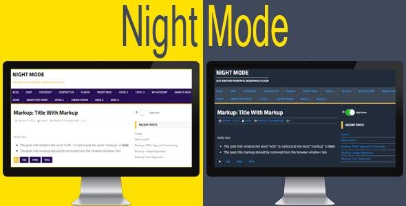 Night Mode for WordPress v6.1.0