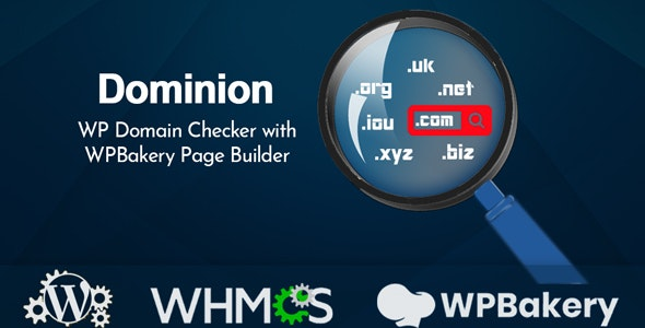 Dominion v1.0.0 – WP Domain Checker with WPBakery Page Builder
