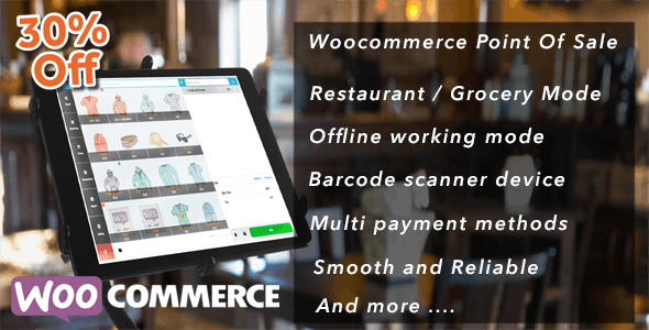 Openpos v3.4.0 – WooCommerce Point Of Sale (POS)