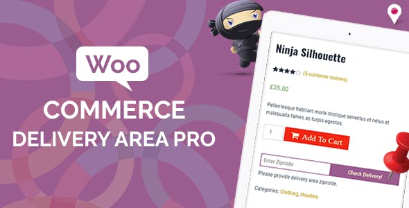 WooCommerce Delivery Area Pro v2.1.0