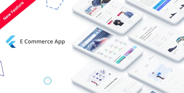 Flutter v1.0 - E-Commerce UI KIT