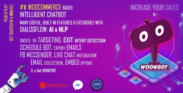 WoowBot v12.3.6 - Chat Bot for WooCommerce