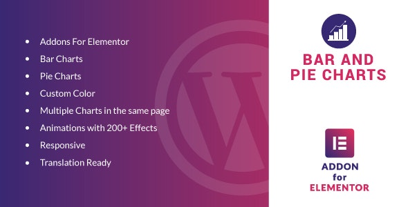 Bar and Pie Charts for Elementor v1.0 – WordPress Plugin
