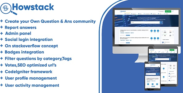 HowStack v1.0 – Questions And Answers Platform