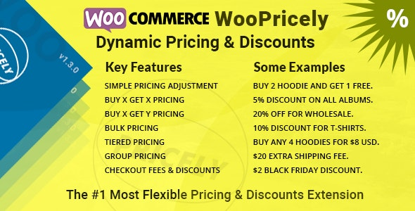 WooPricely v1.3.0 – Dynamic Pricing & Discounts
