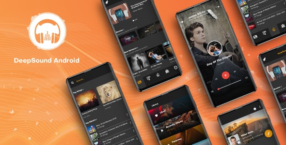 DeepSound Android v1.3 – Mobile Sound & Music Sharing Platform Mobile Android Application