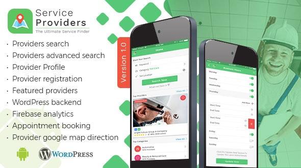 Listingo v8.0 – Service Providers, Business Finder Android Native App