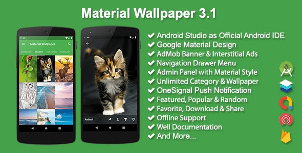 Material Wallpaper v3.1