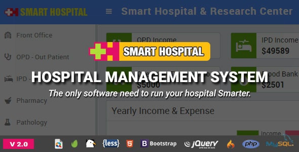 Smart Hospital v2.0 – Hospital Management System