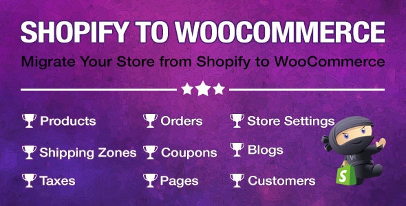 Import Shopify to WooCommerce v1.0.7 – Migrate Your Store from Shopify to WooCommerce