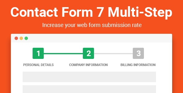Contact Form Seven CF7 Multi-Step Pro v2.3