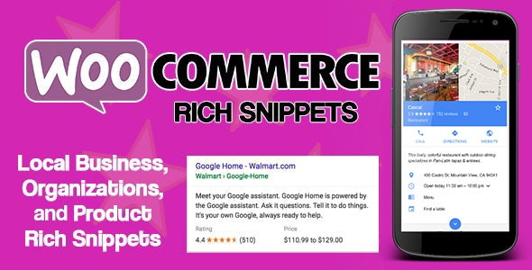 WooCommerce Rich Snippets v2.3.0 – Local SEO & Business SEO Plugin