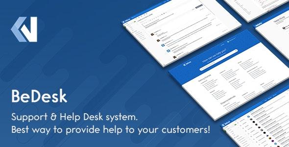 BeDesk v1.2.5 – Customer Support Software & Helpdesk Ticketing System
