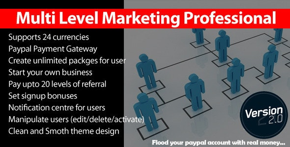 Multi Level Marketing Professional v2.9.1.2