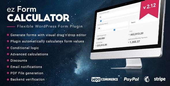 ez Form Calculator v2.12.0.3