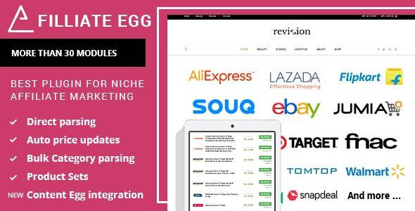 Affiliate Egg v1.0.11 - Niche Affiliate Marketing WordPress Plugin