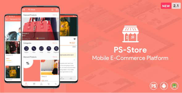 PS Store v2.0 - Mobile eCommerce App for Every Business Owner