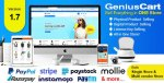 GeniusCart v1.7 – Single or Multivendor Ecommerce System with Physical and Digital Product Marketplace