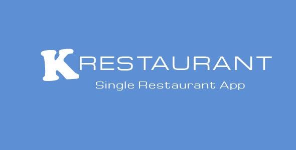 K-Restaurant v2.1 – Mobile App