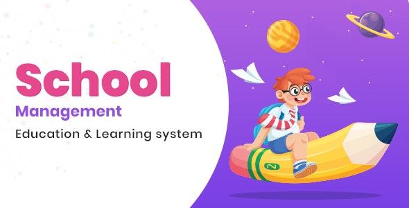 School Management v3.4 – Education & Learning Management system for WordPress
