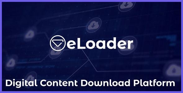 eLoader v1.0 - Digital Content Download Platform - nulled