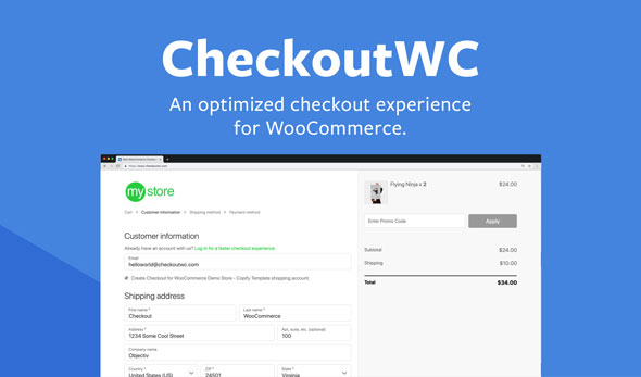 CheckoutWC v4.0.4 - Optimized Checkout Page for WooCommerce