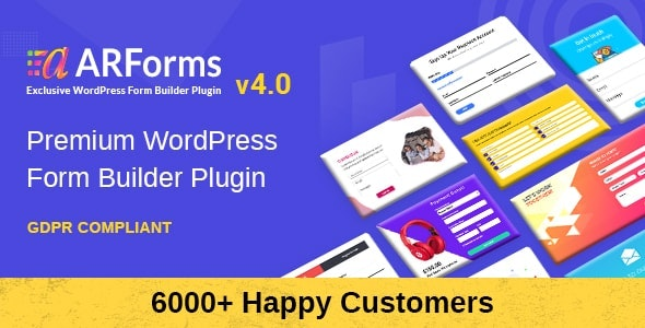 ARForms v4.1 - WordPress Form Builder Plugin
