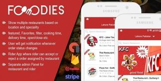 Native Restaurant Food Delivery & Ordering System With Delivery Boy – Android v2.0.5
