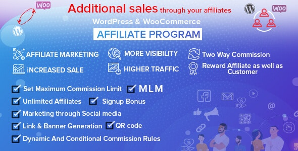 WordPress & WooCommerce Affiliate Program v4.0.0