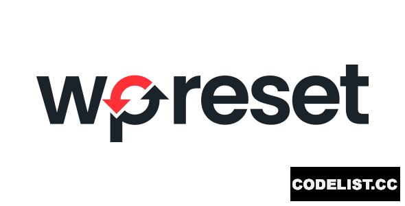 WP Reset Pro v5.83 - WordPress Plugin
