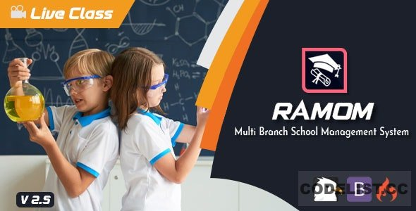Ramom v2.5 - Multi Branch School Management System - nulled