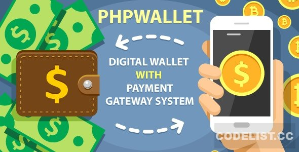 phpWallet v3.9 - e-wallet and online payment gateway system