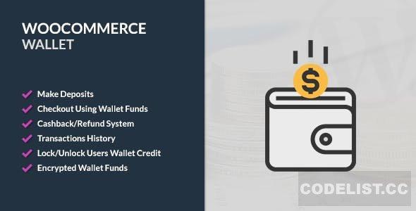 WooCommerce Wallet v2.8.1