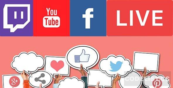 Livestream Social For WordPress v1.2.1