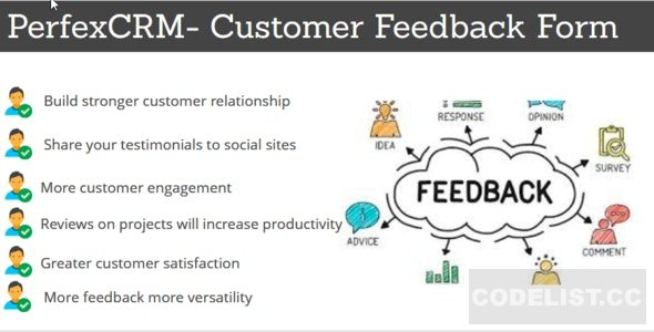 Perfex CRM - Customer Feedback Module v1.0