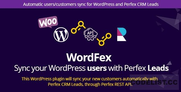 WordFex v1.0 - Syncronize WordPress with Perfex
