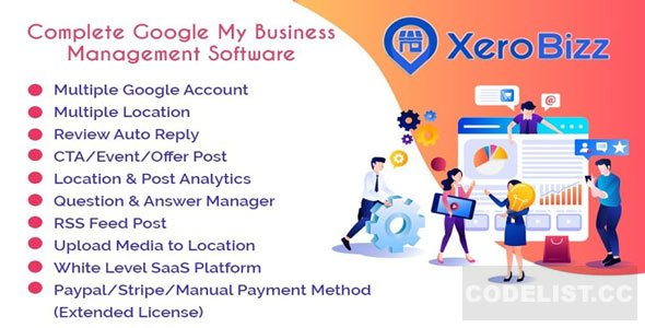 XeroBizz v1.1 - Complete Google My Business Management Software (SaaS Platform)