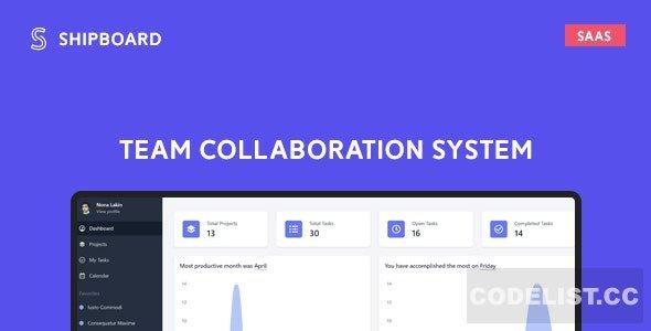 Shipboard SaaS v1.2.3 - Team Collaboration System